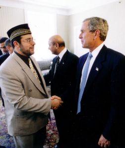 Hendi with Bush