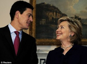 Miliband and Clinton