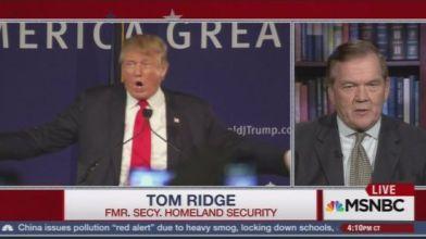Ridge and Trump