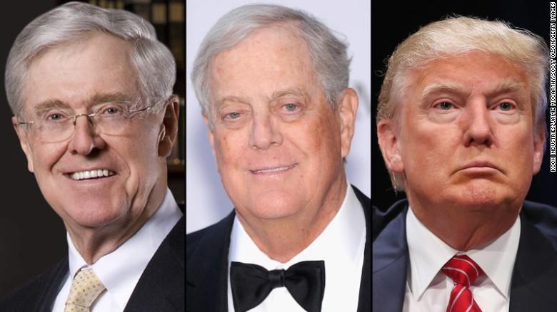 Kochs and Trump