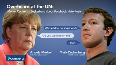 merkel and zuckerberg