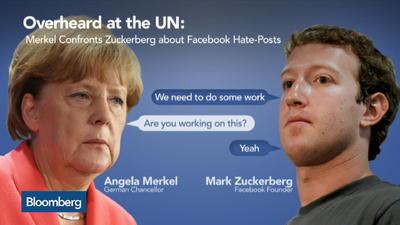merkel and zuckerberg