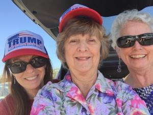 Lynn, Diana and me
